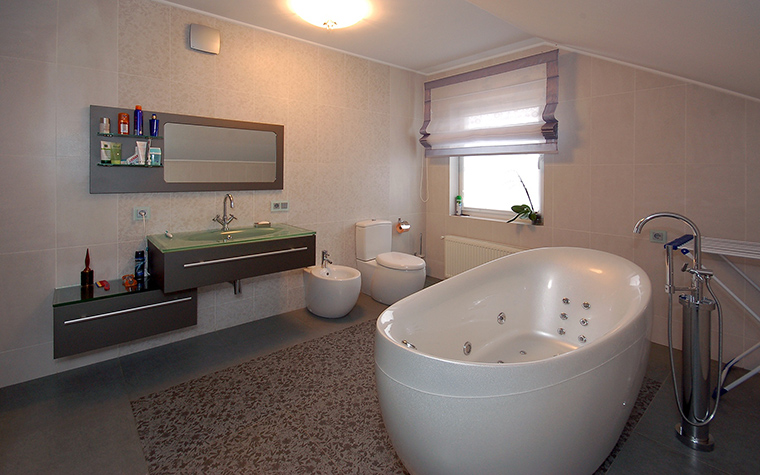 интерьер ванной - фото № 45538