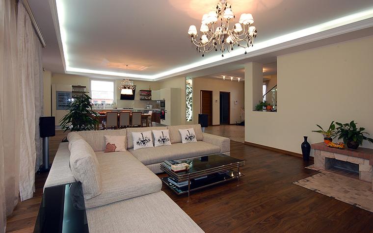 интерьер гостиной - фото № 45530