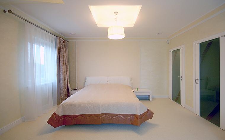 Загородный дом. спальня из проекта , фото №45535