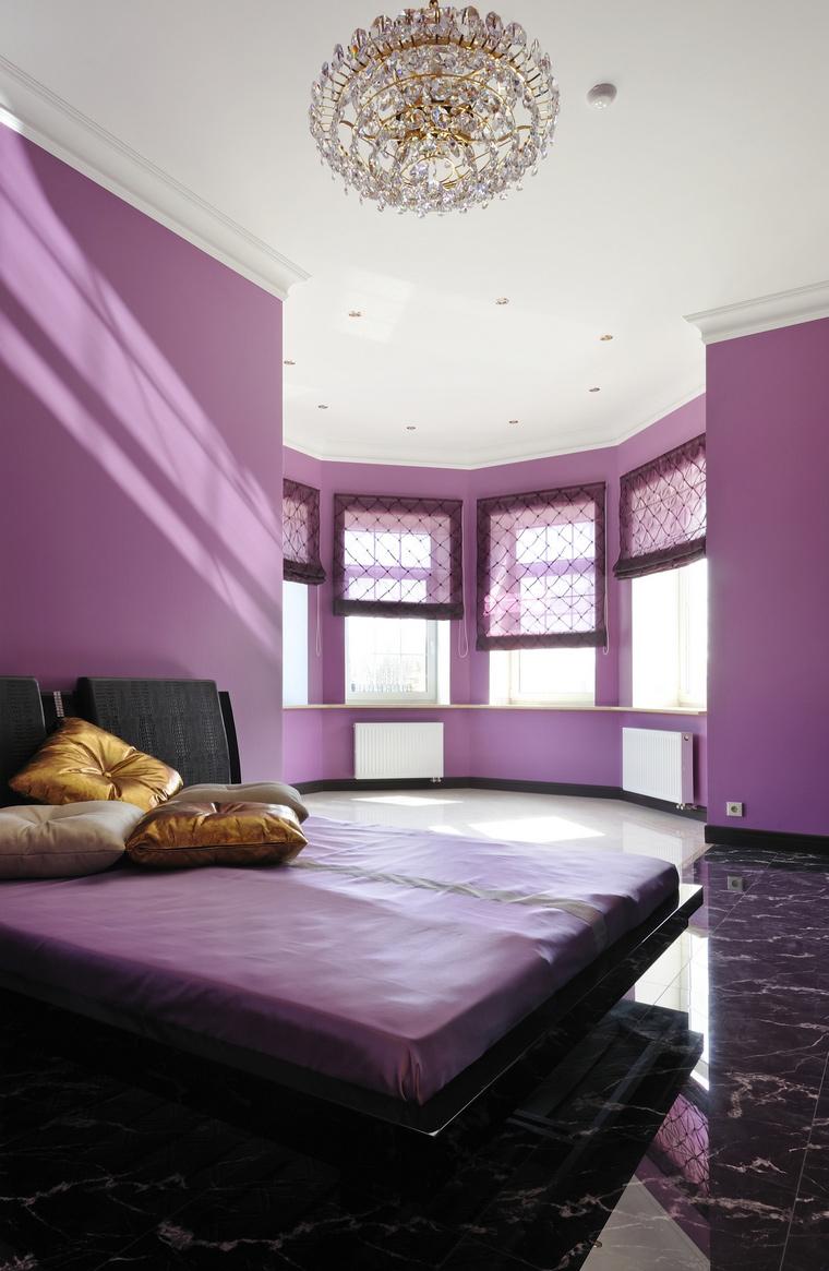 Фото № 45595 спальня  Загородный дом