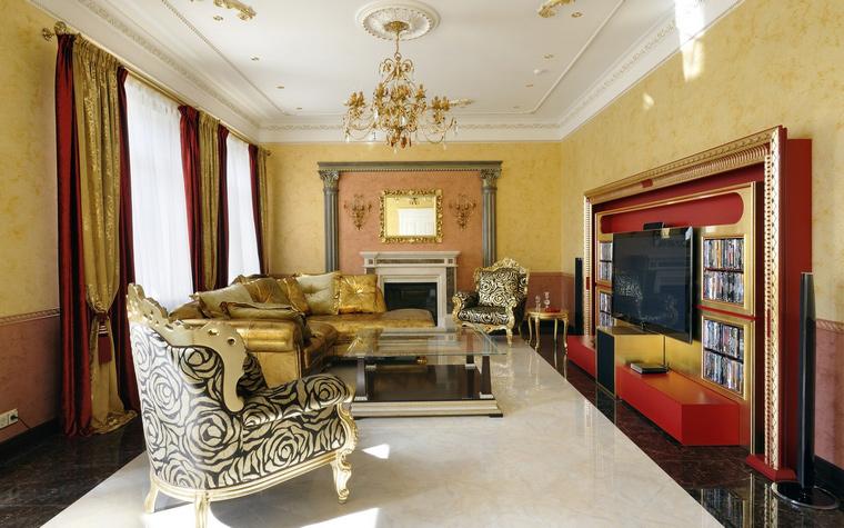 интерьер гостиной - фото № 45578