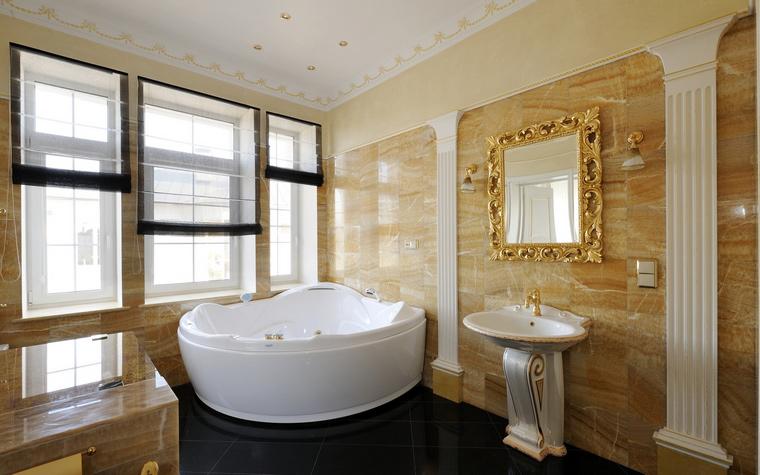 Фото № 45605 ванная  Загородный дом