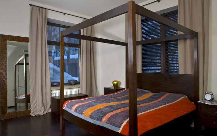 интерьер спальни - фото № 45613