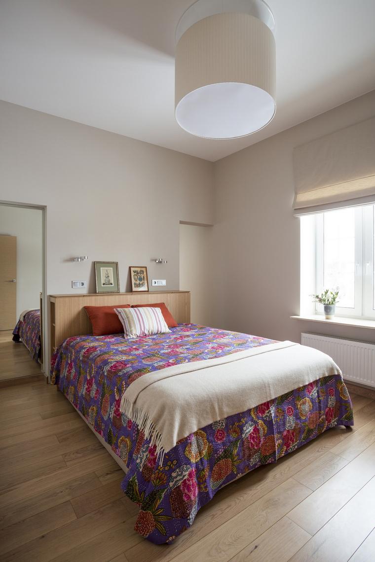 Загородный дом. спальня из проекта , фото №45685