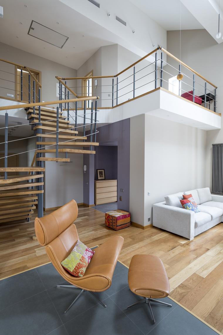 Загородный дом. гостиная из проекта , фото №45677