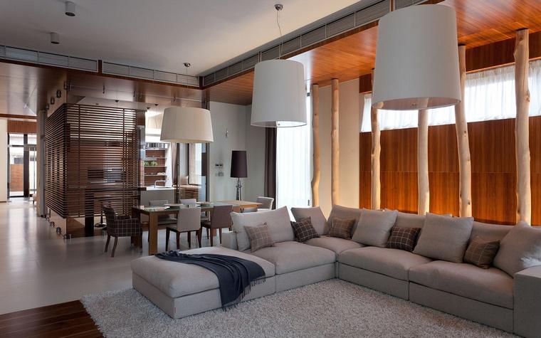 интерьер гостиной - фото № 45714
