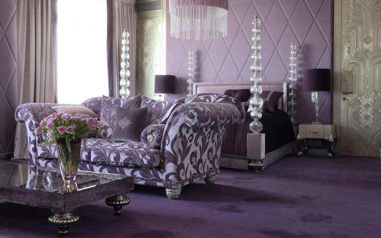 интерьер спальни - фото № 48211