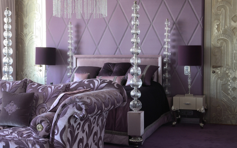 интерьер спальни - фото № 48212