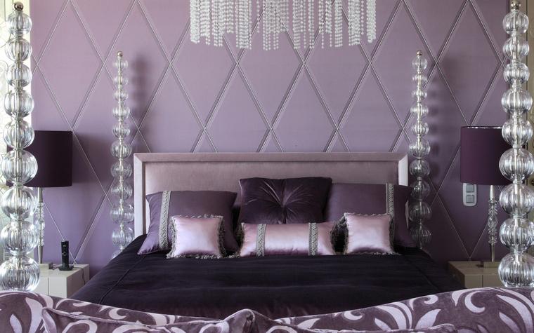 интерьер спальни - фото № 48213