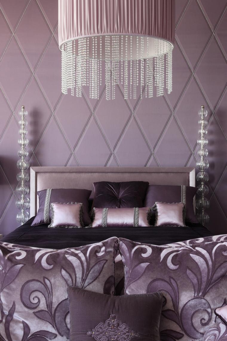 интерьер спальни - фото № 48217