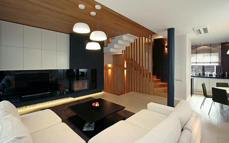 интерьер гостиной - фото № 45824