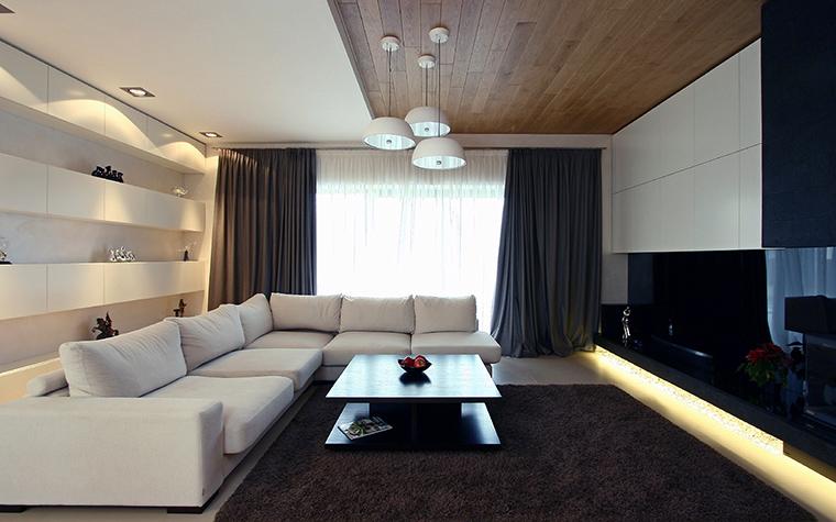 интерьер гостиной - фото № 45825
