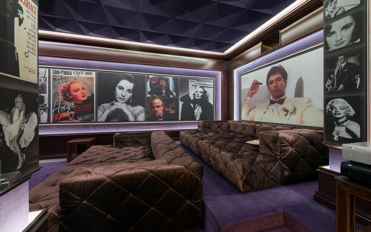 Фото № 45870 домашний кинотеатр  Загородный дом