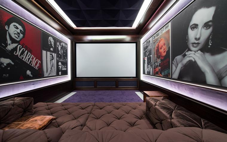 Фото № 45872 домашний кинотеатр  Загородный дом