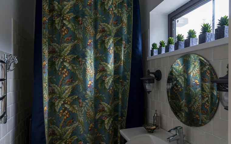 Загородный дом. ванная из проекта , фото №46052