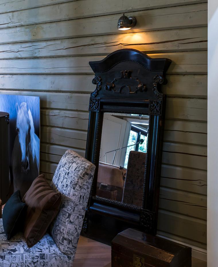 Загородный дом. гостиная из проекта , фото №46026