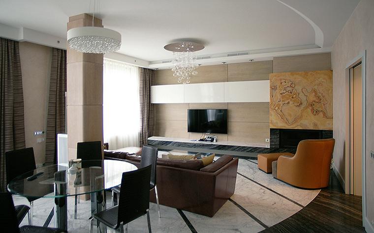 интерьер гостиной - фото № 46201
