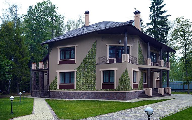 Загородный дом. фасад из проекта , фото №46219