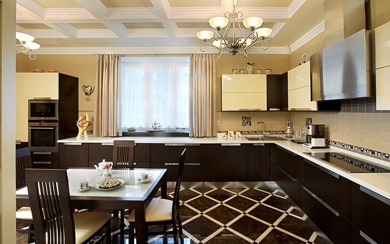 Фото № 46229 кухня  Загородный дом