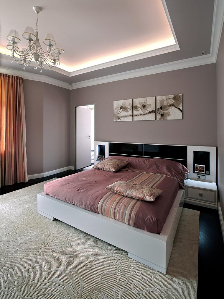 интерьер спальни - фото № 46241