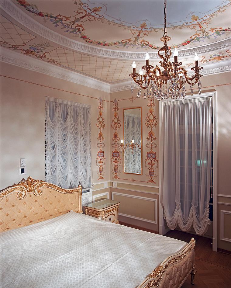 Фото № 46367 спальня  Загородный дом