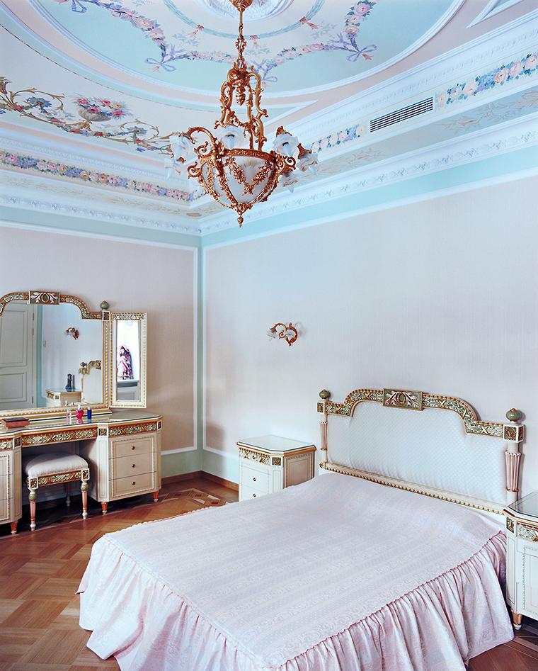 Фото № 46368 спальня  Загородный дом