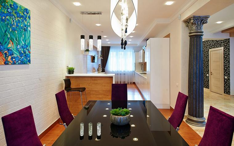 Загородный дом. столовая из проекта , фото №46500