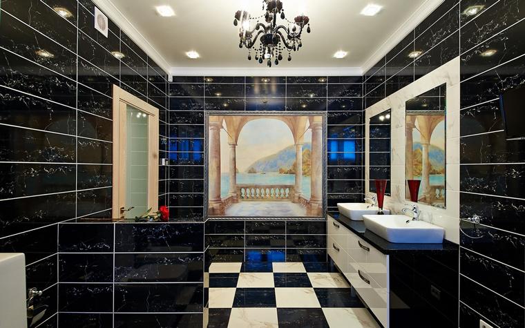 Загородный дом. ванная из проекта , фото №46512