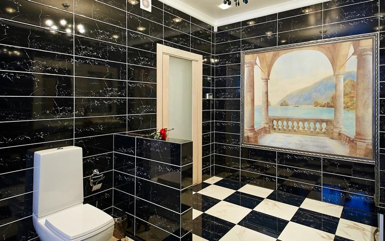 Загородный дом. ванная из проекта , фото №46513