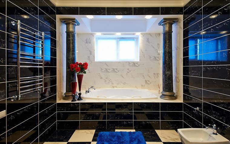 Загородный дом. ванная из проекта , фото №46515