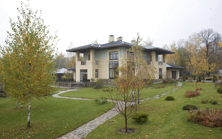 Фото № 46588 фасад  Загородный дом