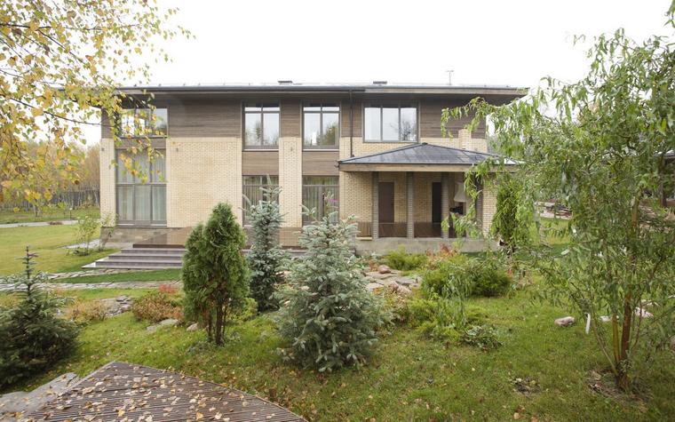 Фото № 46559 фасад  Загородный дом