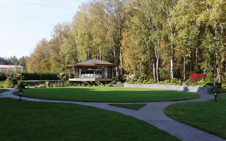 Загородный дом. беседка из проекта , фото №46617