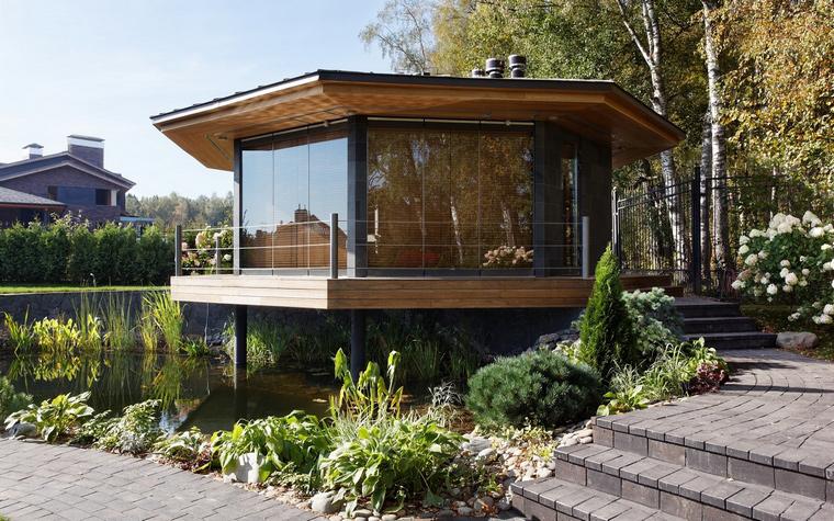 Загородный дом. беседка из проекта , фото №46620