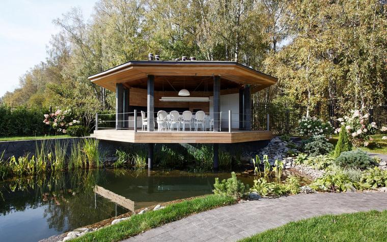 Загородный дом. беседка из проекта , фото №46623
