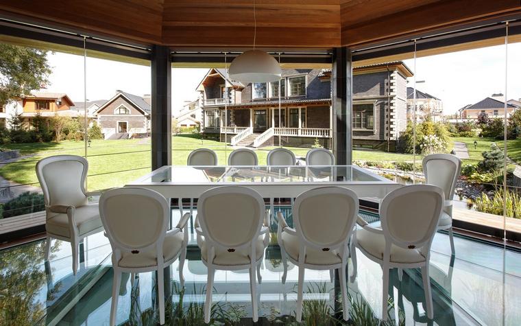 Загородный дом. беседка из проекта , фото №46626