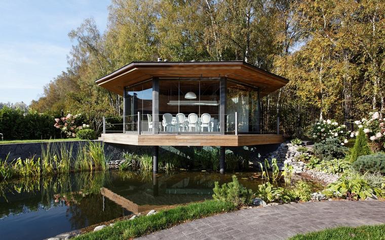 Загородный дом. беседка из проекта , фото №46616