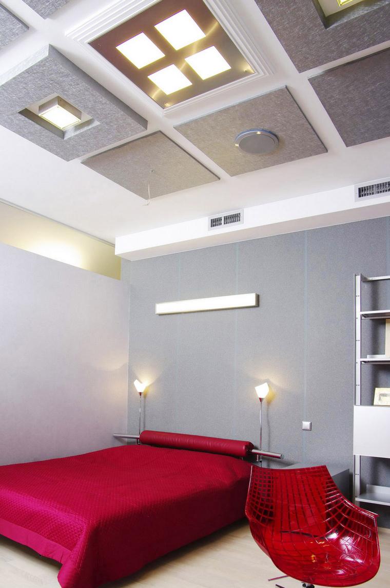 Загородный дом. спальня из проекта , фото №46746