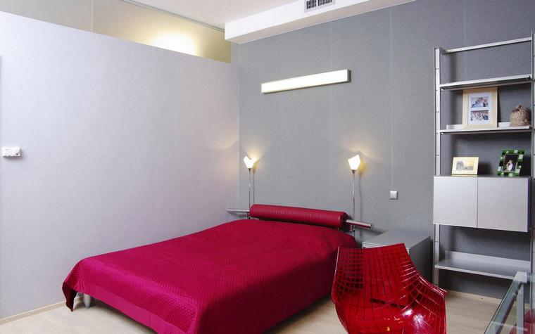 Загородный дом. спальня из проекта , фото №46747