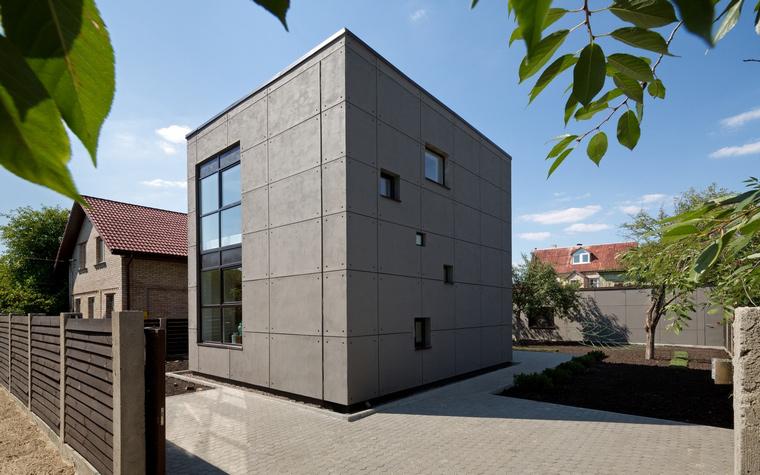 Загородный дом. фасад из проекта , фото №46784