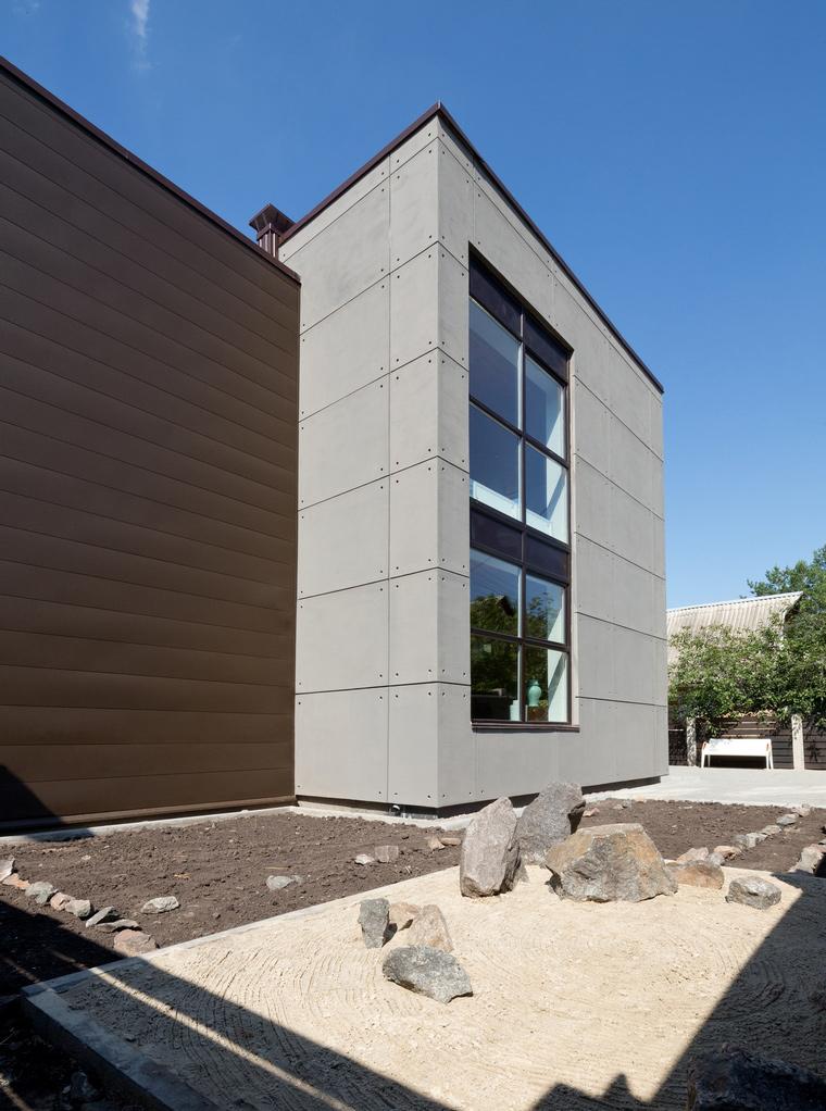 Загородный дом. фасад из проекта , фото №46785