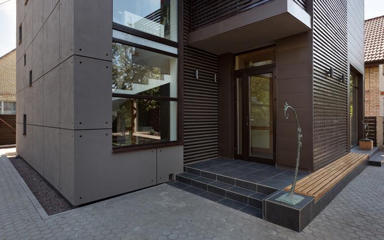 Загородный дом. фасад из проекта , фото №46786