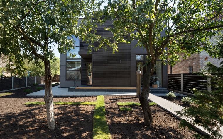 Загородный дом. фасад из проекта , фото №46779