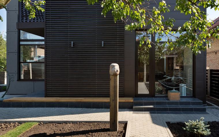 Загородный дом. фасад из проекта , фото №46780