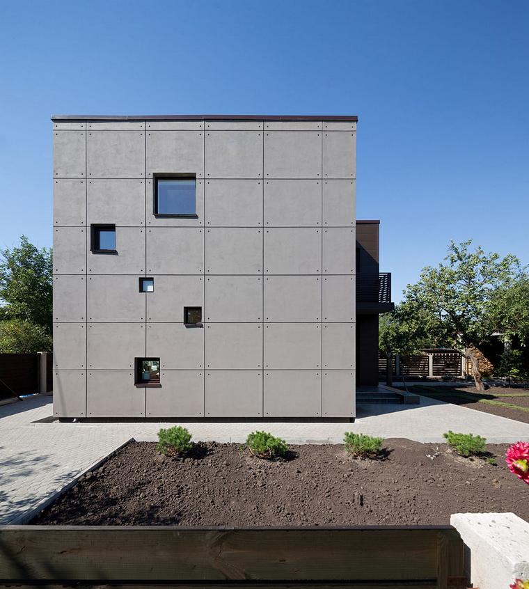 Загородный дом. фасад из проекта , фото №46781