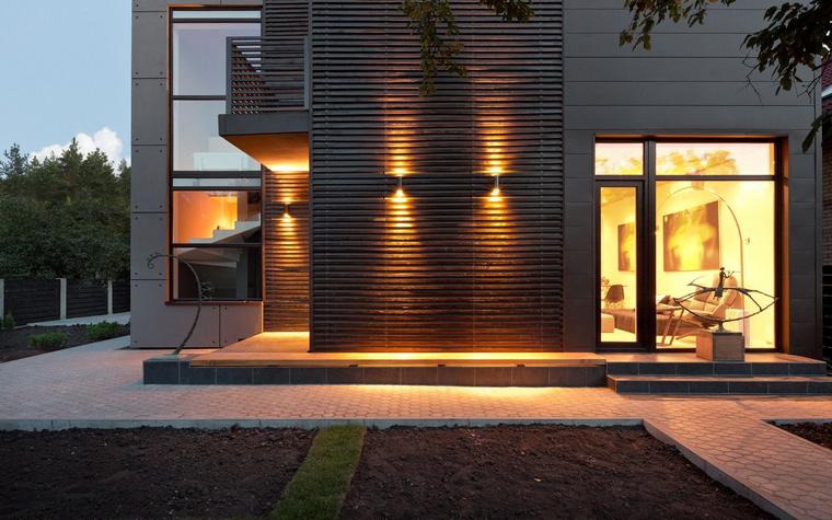 Загородный дом. фасад из проекта , фото №46782