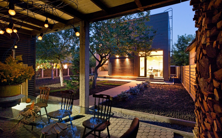 Загородный дом. фасад из проекта , фото №46783