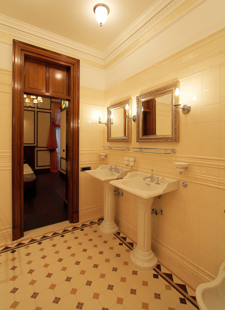 Фото № 46883 ванная  Загородный дом