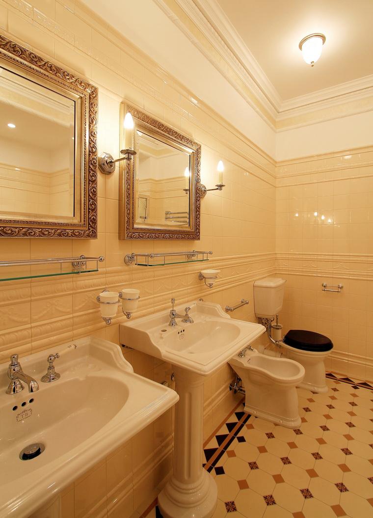 Фото № 46884 ванная  Загородный дом