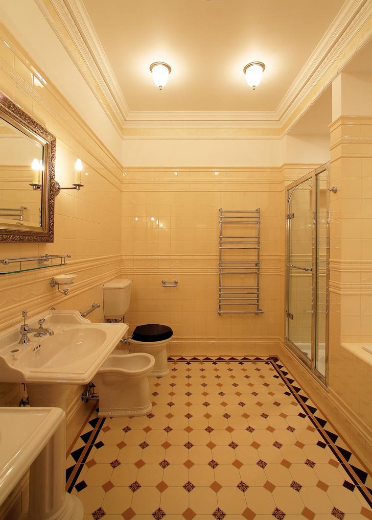 Фото № 46885 ванная  Загородный дом